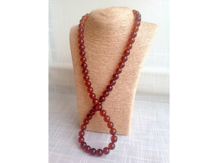 CHERRY AMBER NECKLACE 14.5mm