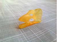 AMBER CARVED FISH
