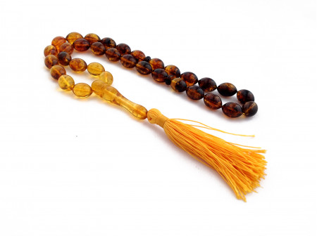 MULTICOLOR  AMBER ISLAMIC ROSARY BEADS