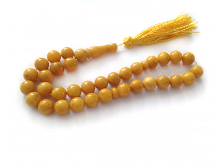 Antique Color Islamic Rosary 33 Beads