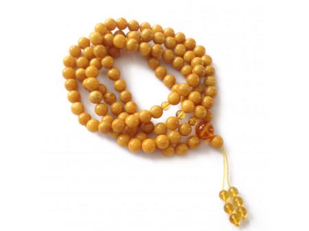 108 Mala Beads: Antique Color