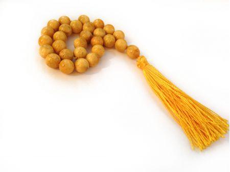 27 Mala Beads: Antique Color