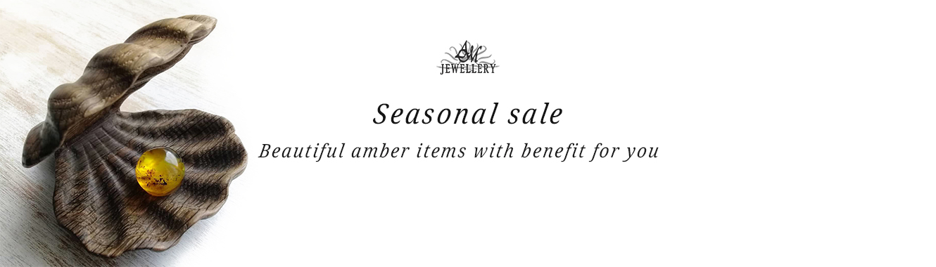 Sale of amber products